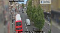 Croydon: A Streatham H Rd/Kingscourt Rd - Dagtid