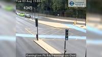 London: Kenington Pk Rd/Kennington Oval - Day time