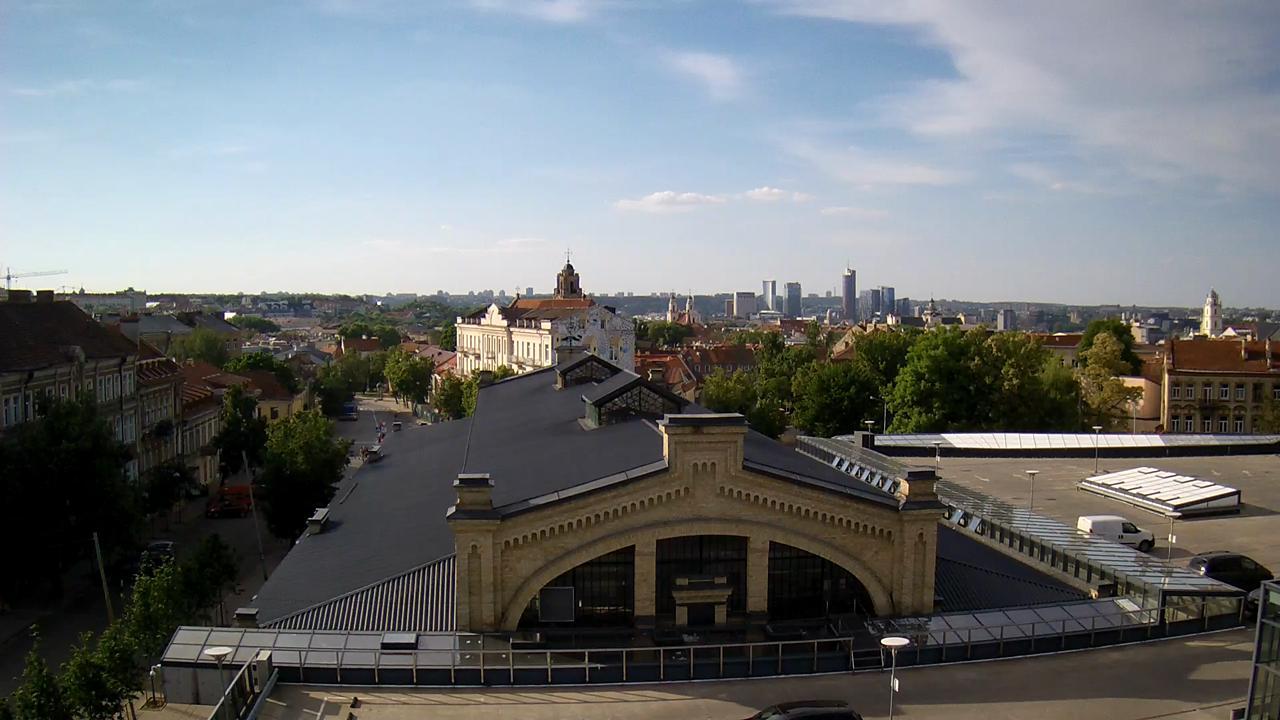 Webkamera Vilnius: Hales market