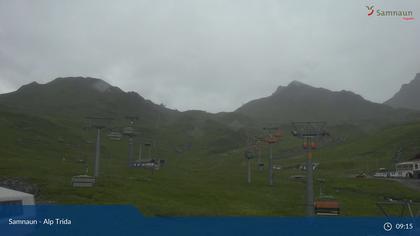 Compatsch: Samnaun - Alp Trida, Alp Trida