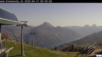 Emmetten: Stockhütte - Blick auf Vierwaldstättersee