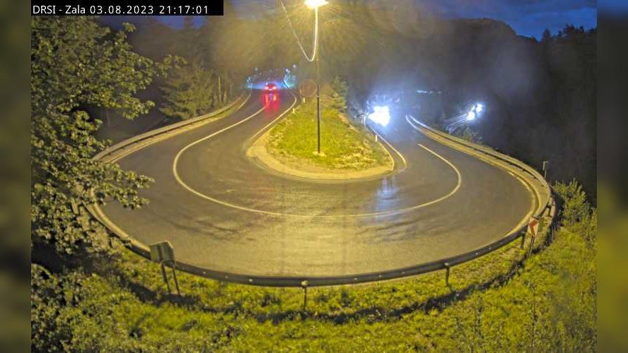 Webcam Jelični Vrh: G2-102, Idrija − Godovič, Zala
