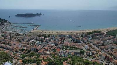 Tageslicht webcam ansicht von l'Estartit: Girona