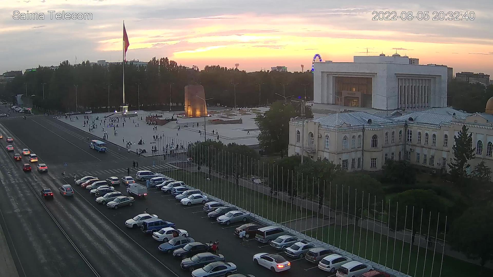 Webcam Bishkek: Ala-Too Square