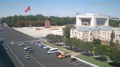 Daylight webcam view from Bishkek: Ala Too Square