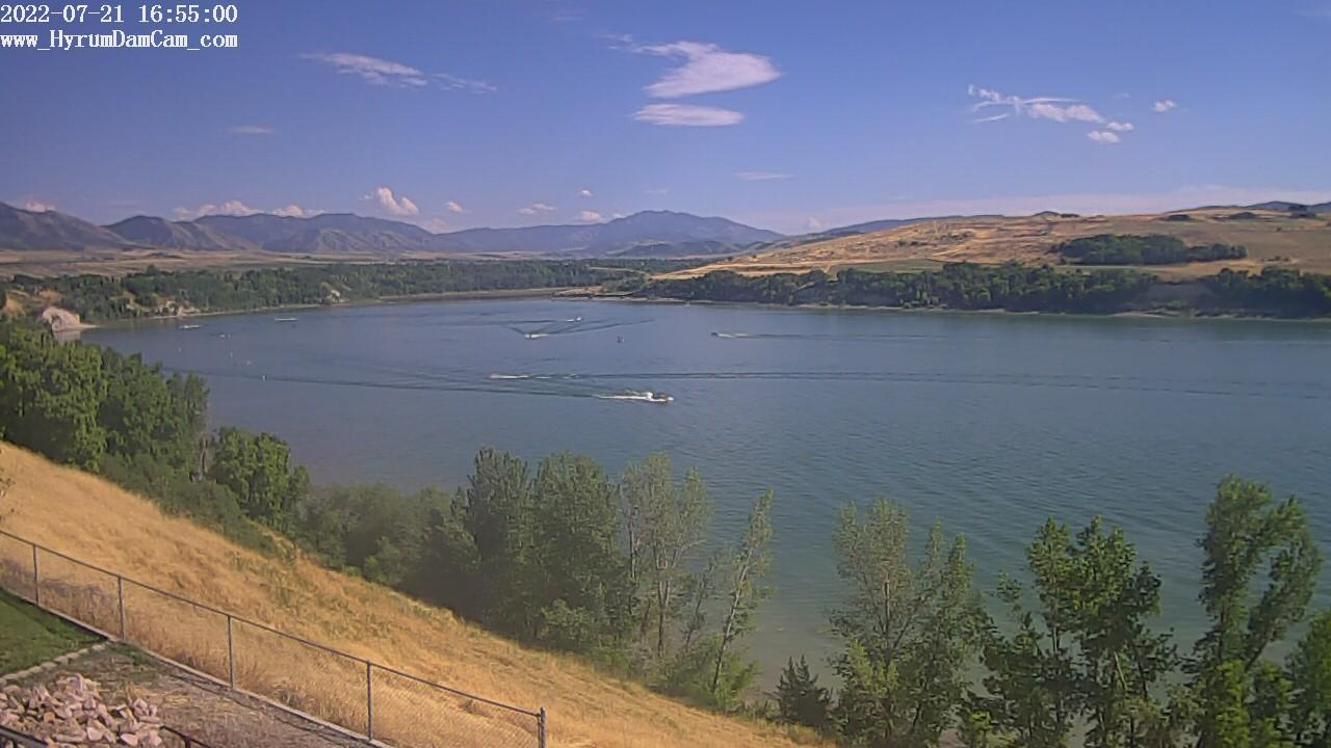 Webcam Hyrum: Reservoir − SE