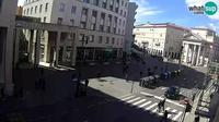 Triest: Borsa square webcam live - Overdag
