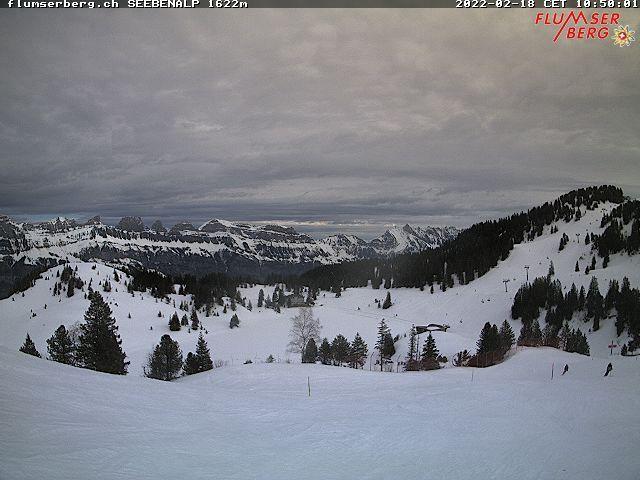 Quarten: Flumserberg - Tannenboden - Alps