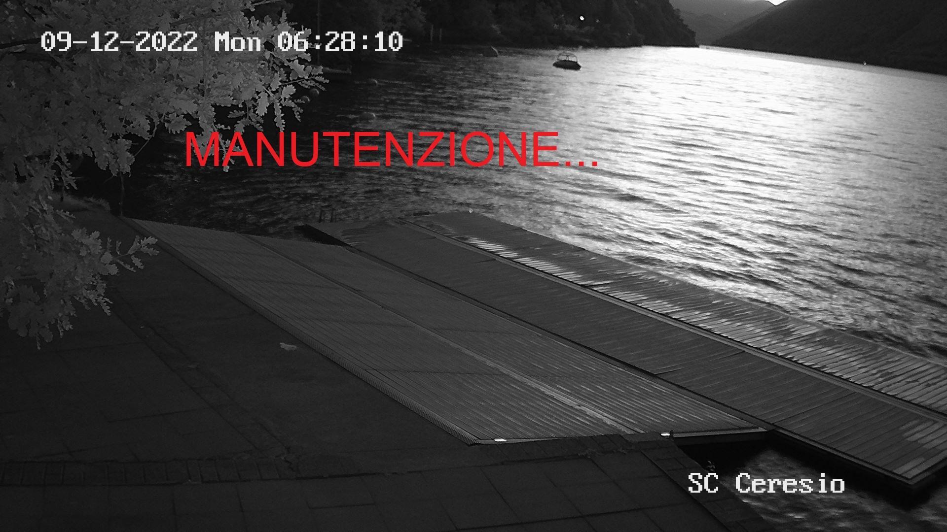 Webkamera Lugano: Società Canottieri Ceresio Gandria − Casta