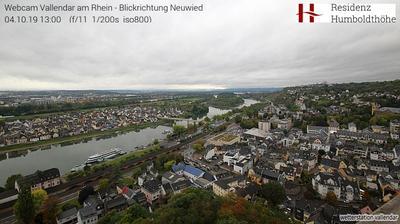 Webkamera Koblenz › North-West: Vallendar