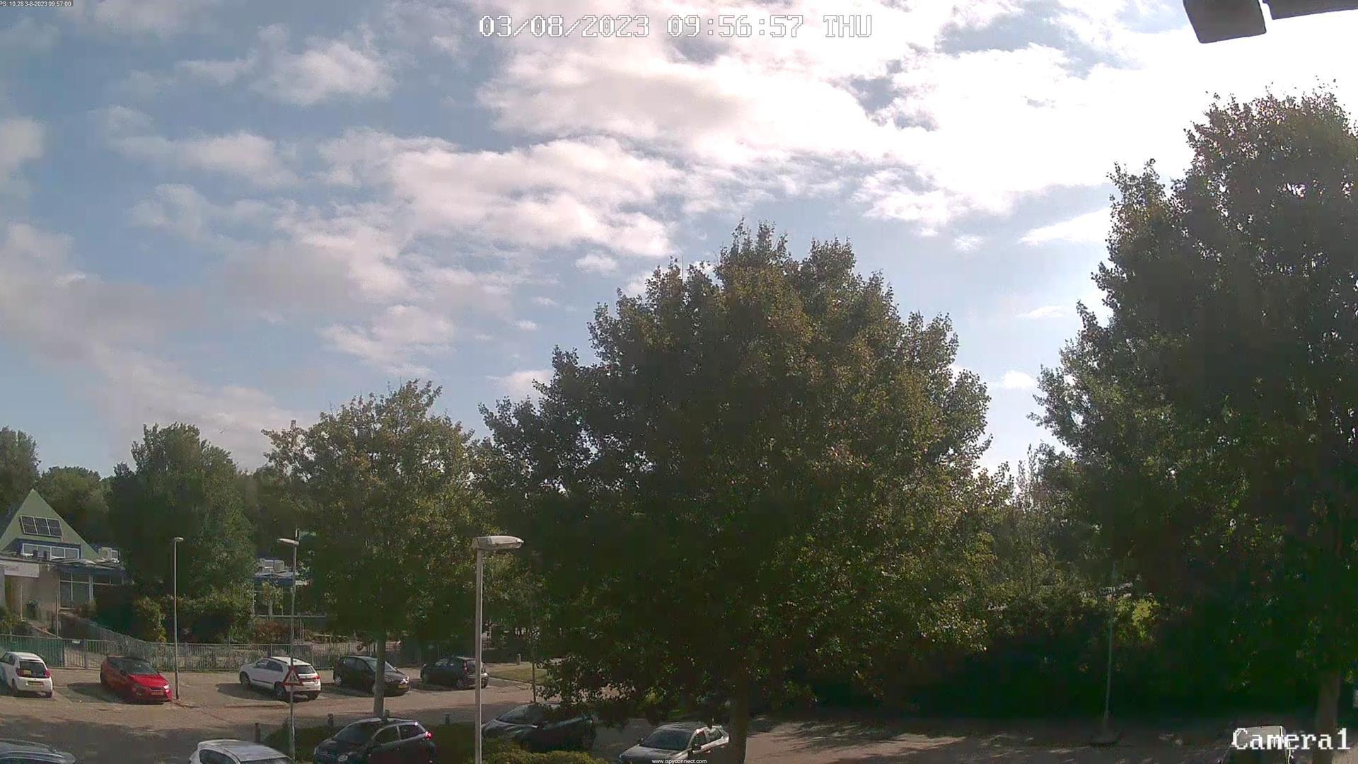 Webkamera Julianadorp › South-East: Meteo
