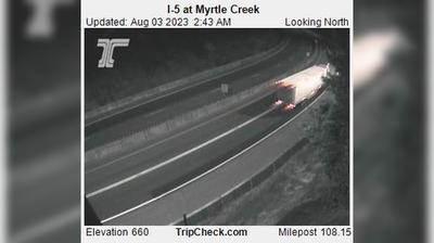 Vignette de Myrtle Creek webcam à 10:11, oct. 27