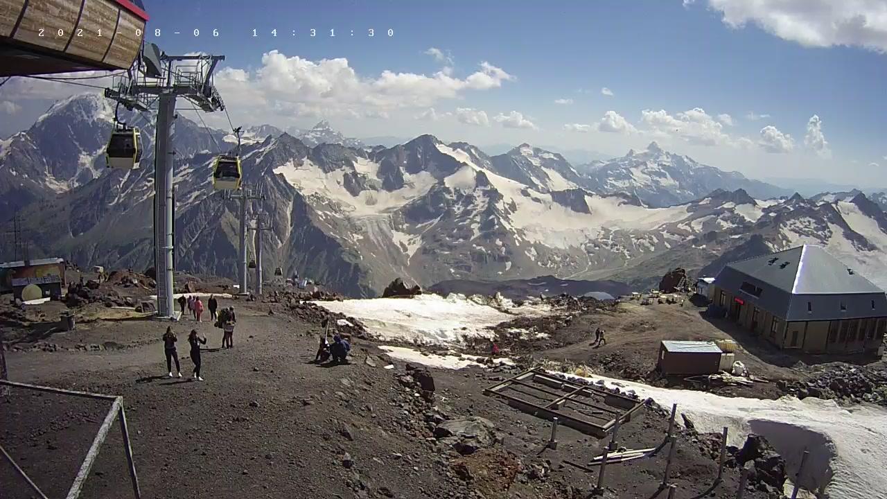 Webcam Эльбрус: Mount − Kabardino-Balkariya