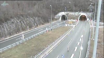 Ostrovica: Primorsko-Goranska Autocesta A/E, tunel Tuhobić, view in the direction of Zagreb