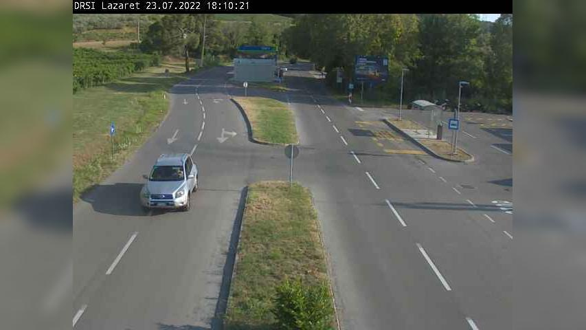 Webcam Lazzaretto: R2-406, Škofije − Lazaret, Lazaret
