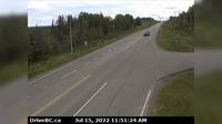 Chetwynd › East: , Hwy  at Wabi Estates Road, east of - looking east - Dagtid