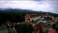 Jelenia G�ra: Cieplice - Plac Piastowski, Jelenia Gora - Day time