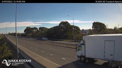 Vue webcam de jour à partir de Spreydon › West: SH76 Lincoln Rd West, Christchurch