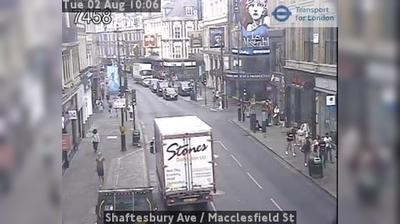 Londres: Shaftesbury Ave - Macclesfield St
