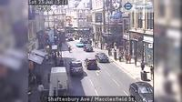 London: Shaftesbury Ave - Macclesfield St - Overdag
