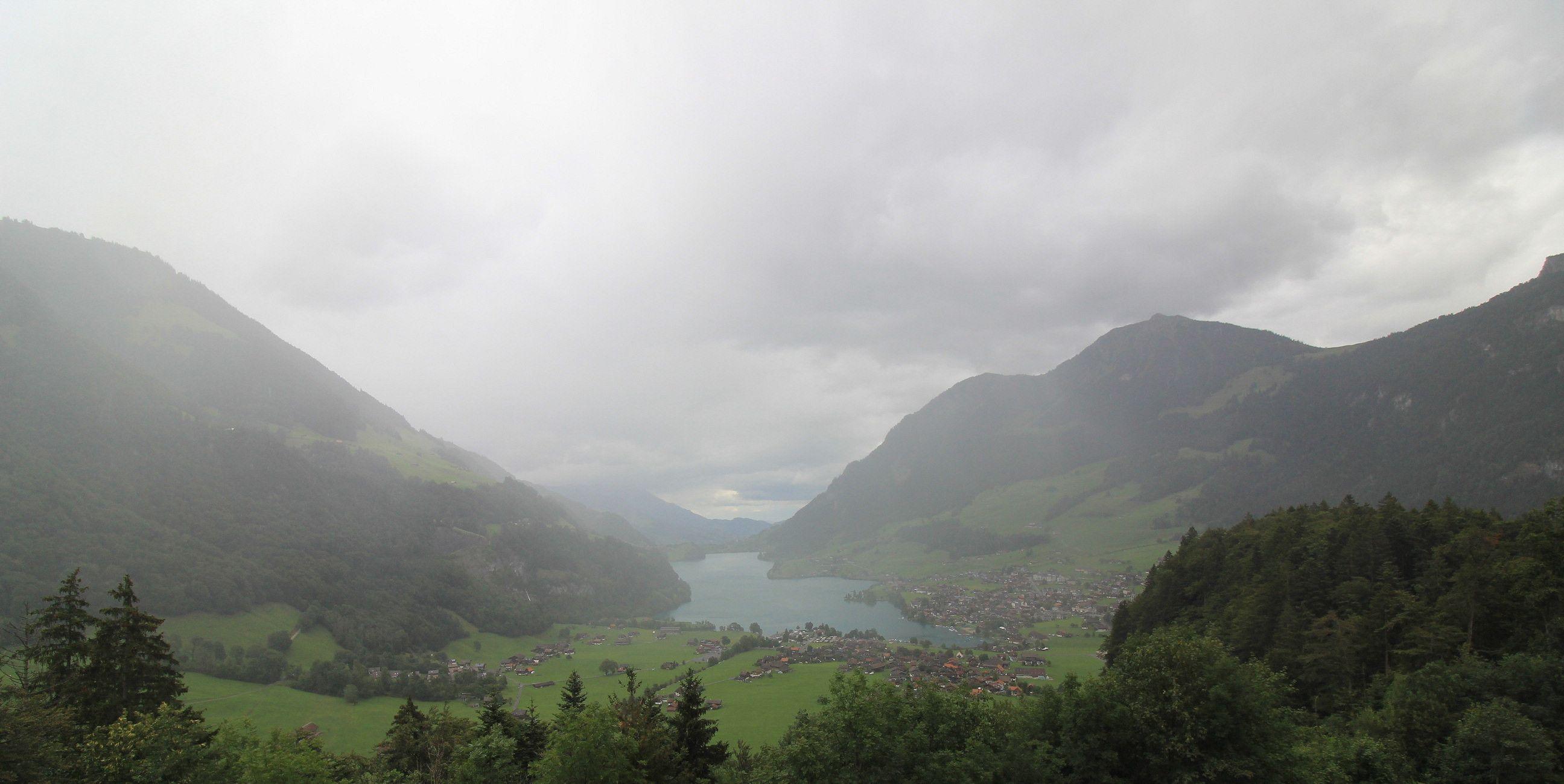 Lungern › Norden: Obsee - Lake Lungern - Fischerparadies Lungern - Mount Pilatus