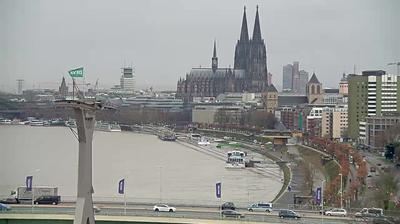 Cologne › Sud-ouest: Seilbahn Köln - Cologne Cathedral