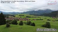Obermaiselstein: Gro�er Herrenberg - Blick nach Osten - Overdag