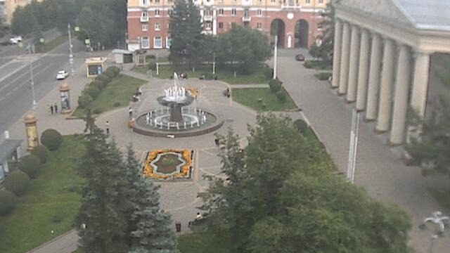 Webcam Kemerovo: Фонтан