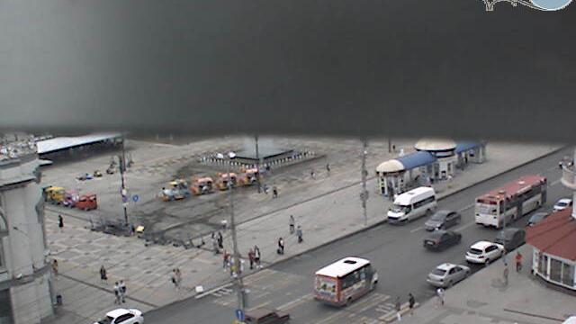 Webcam Красноармейская слобода: Площадь перед цирком им.