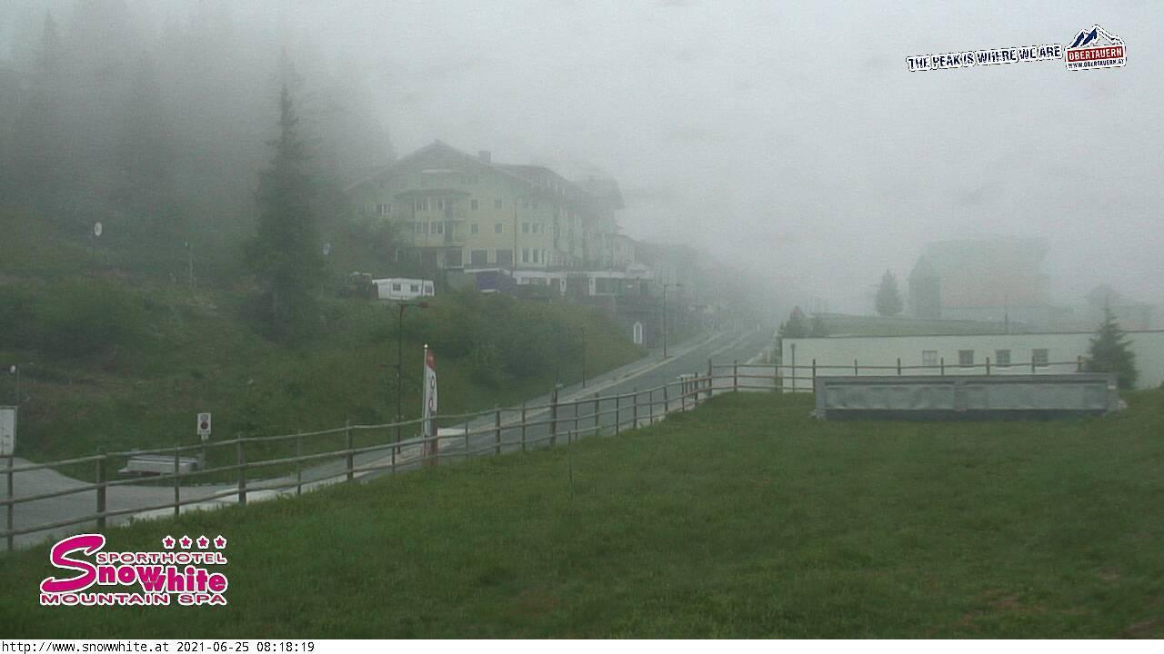 Webcam Obertauern: Blick von der Kirchbühelbrücke