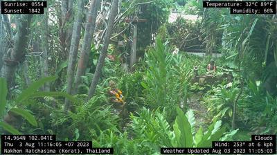 Vista de cámara web de luz diurna desde Nakhon Ratchasima: Korat Web Cam