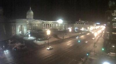 Webcam St Petersburg: Казанский собор