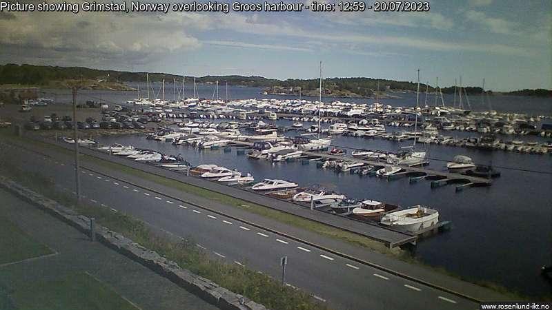 Webcam Holvika: Grimstad Groos