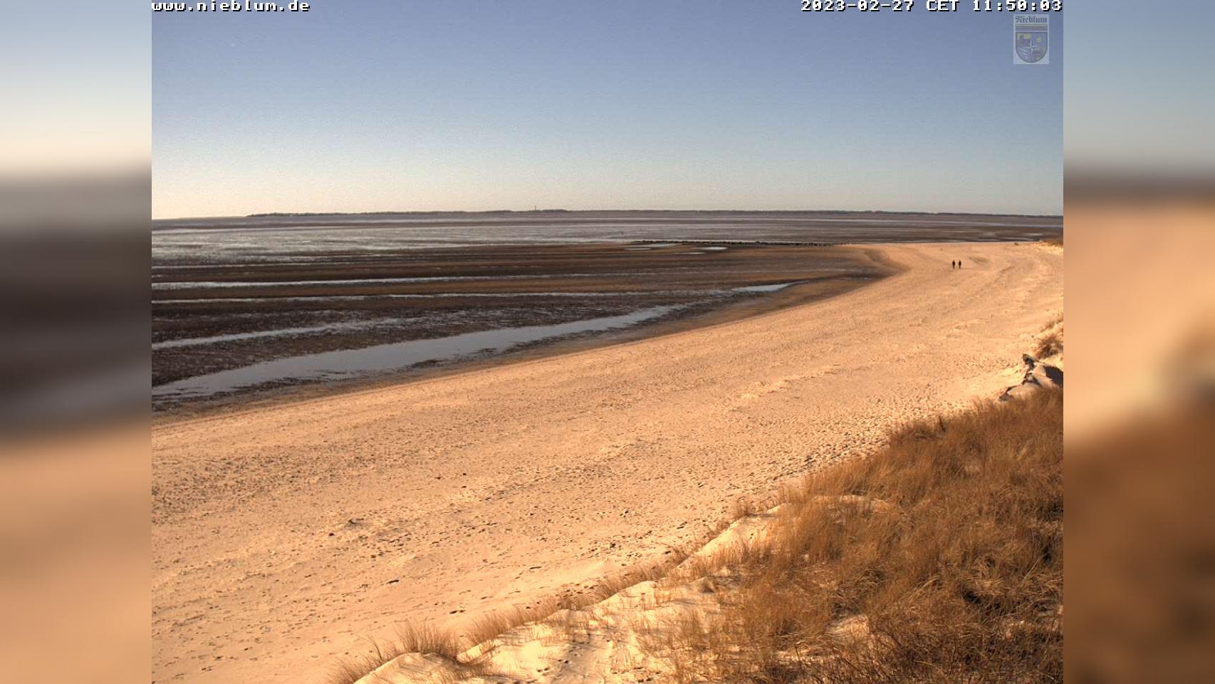 Webcam Nieblum: Strand von − auf Föhr