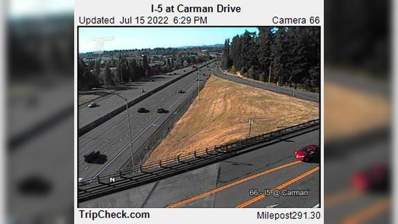 Webcam Durham: I-5 at Carman Drive
