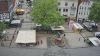 Lemgo: Stadt Detmold mit Blick auf den Marktplatz - Dia
