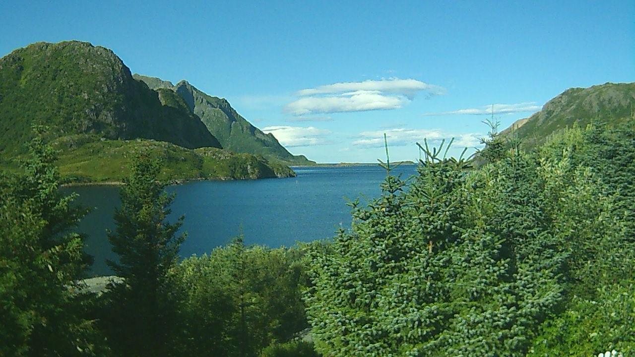 Webcam Eidet, Bø, Nordland, Norwegen