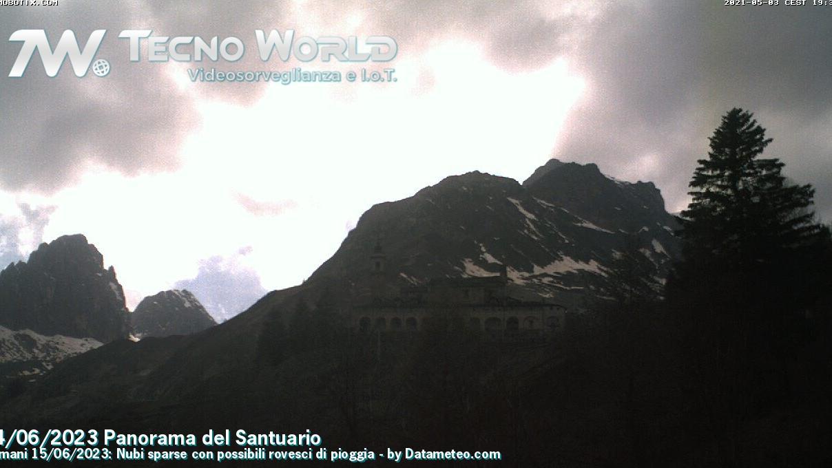Webcam Chiappi: Santuario di San Magno