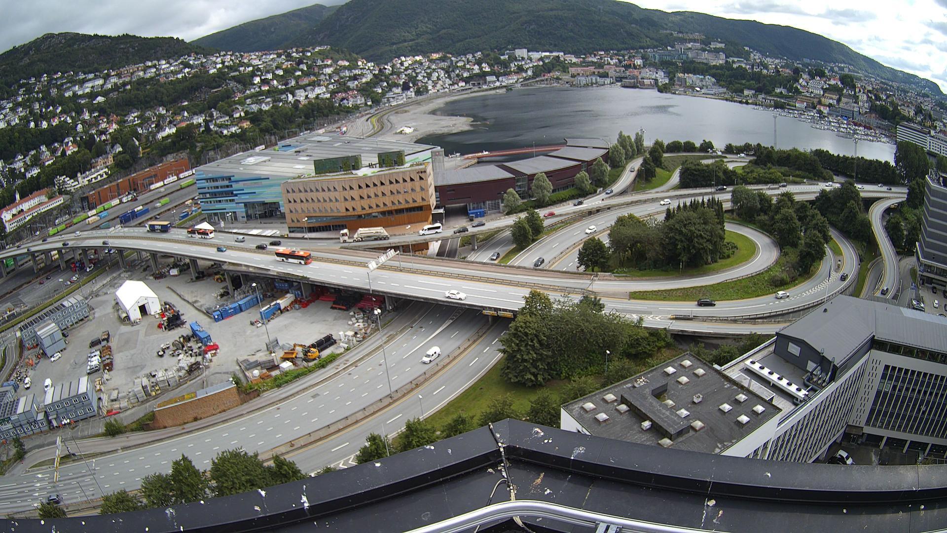 Webcam Bergen: Nygårdstangen