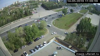 Webkamera Староковыльный: перекресток пр. Гагарина и ул. Мир