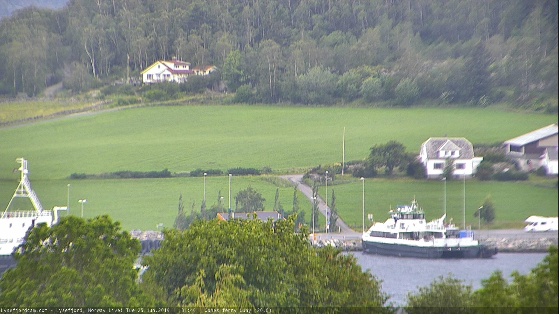 Webkamera Oanes › North-West: ferry quay