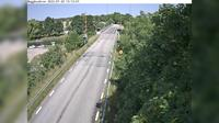 Almsta: Bagghusbron (Kameran är placerad på väg  vid Bagghusbron och är riktad norrut) - Dia