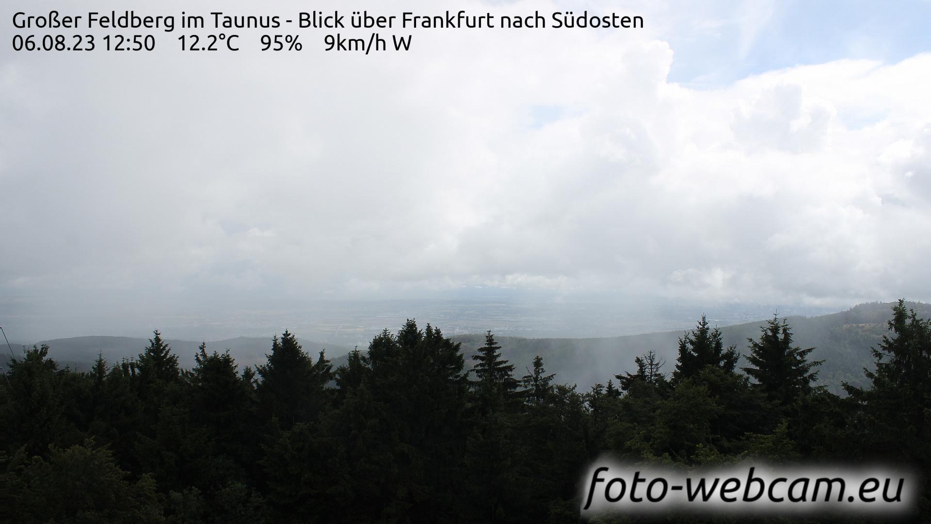 großer feldberg taunus webcam