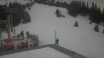 Vista de cámara web de luz diurna desde Жолголот: Karakol Ski