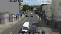 North Cheam: Holloway Rd Nth Rupert Rd - Dagtid
