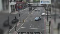 North Cheam: Holloway Rd S of Hornsey Rd - Day time