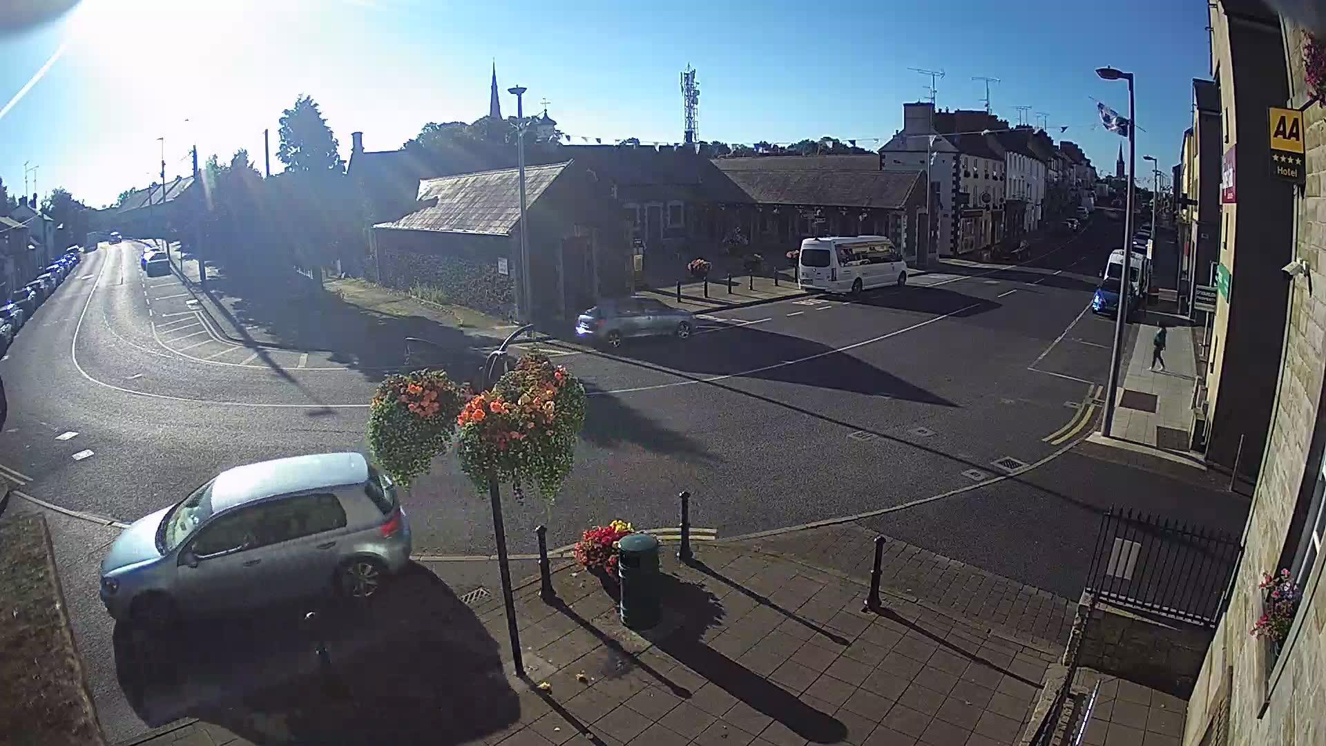 Webcam Carrickmacross: Main Street, Republic of