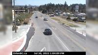 Central Saanich > East: , Hwy  at Mt Newton Cross Rd, looking east - Jour