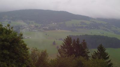 Vista actual o última desde Diex: Blick auf das Wandergebiet