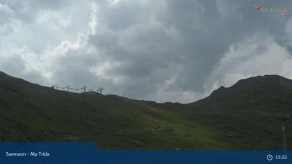 Compatsch: Samnaun - Alp Trida, Sattel